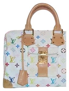 Louis Vuitton Lv Speedy 30 Murakami Speedy Lv M92643 Speedy Neverfull Satchel in Multicolor