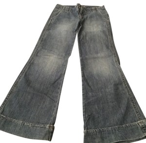 Level 99 Flare Leg Jeans-Medium Wash