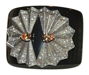 Miriam Salat MIRIAM SALAT Fabulous FAN Jewel Hinged Wide Cuff Wide Bangle