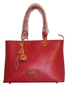 Joy & IMAN Tote in Sangria Red
