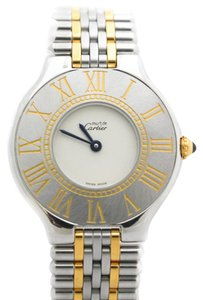 Cartier Cartier Must De 21 Two Tone Quartz Watch