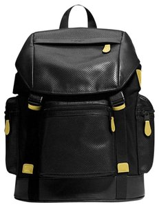 Coach Leather Top Handle Backpack