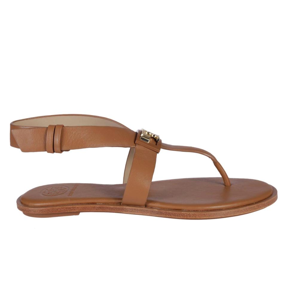 2665eb659 Tory Burch Royal Tan Gigi Flat Sandals Size US 6 Regular (M