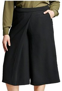 Who What Wear x Target Culottes Www Wide Leg Mid Rise 10 Capris black