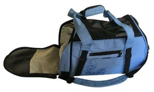 bergan Dog Carrier Pet Carrier Travel Messenger blue Travel Bag