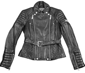 Affliction * Black Leather Jacket
