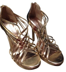 Chinese Laundry Gold metallic Platforms