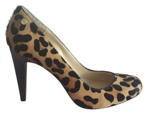 Calvin Klein Leopard Fur Pump Pumps