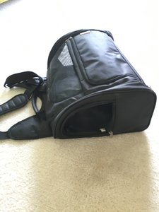 Snoozer Dog Carrier Pet Carrier Travel Messenger black Travel Bag