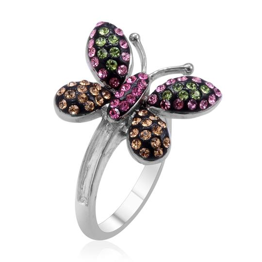 Unknown Austrian Crystal Butterfly Ring