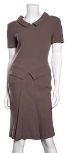 Roland Mouret RM by Roland Mouret Taupe Two Piece Dress