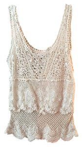 American Eagle Outfitters Top Off White