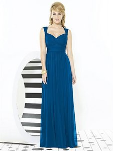 After Six Cerulean Blue 6712 Dress