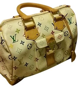 Louis Vuitton Lv Multicolor Satchel in Multicolored