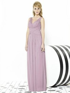 After Six Suede Rose Pink 6711 Dress