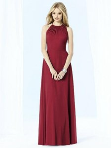 After Six Claret Red 6704 Dress
