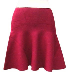 Other Mini Skirt Maroon