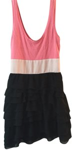 Express short dress Pink w/ Black on Tradesy