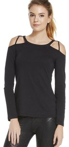 Fabletics Yoga Longsleeve Cut-out T Shirt black
