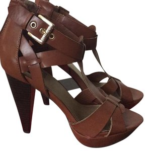 Guess Brown Platforms