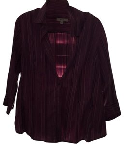 Merona Button Down Shirt Purple