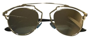 Dior So Real 48mm Silver Mirrored Sunglasses Palladium/Crystal