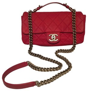 Chanel Classic Classic Flap Flap Classic Nubuck Shoulder Bag