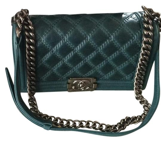 d411997dc8fb Chanel Shopping Bag In Teal | Stanford Center for Opportunity Policy ...