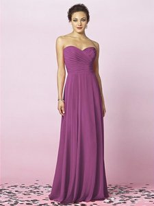 After Six Orchid Chiffon 6639 Feminine Bridesmaid/Mob Dress Size 12 (L)