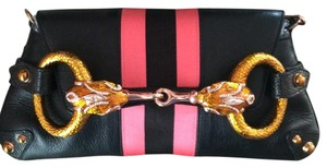 Gucci Black / Pink Clutch