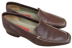 Cole Haan Driving Leather Brown Flats