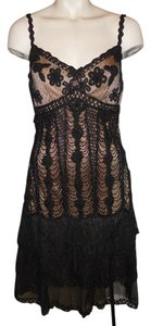 Sue Wong Beaded Crochet Sequin Dress
