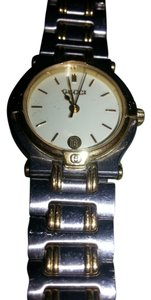 Gucci 9000L Two Tone Stainless Steel/Gold Plated Quartz Watch