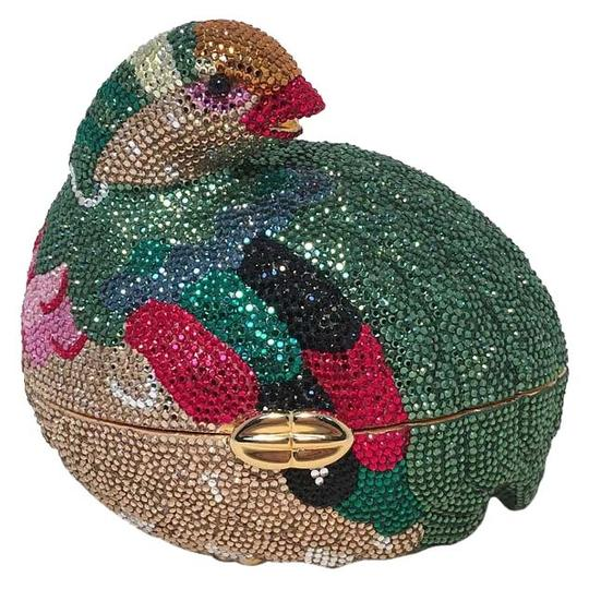 Preload https://item4.tradesy.com/images/judith-leiber-colorful-quail-swarovski-minaudiere-multicolor-crystal-clutch-16181068-0-1.jpg?width=440&height=440