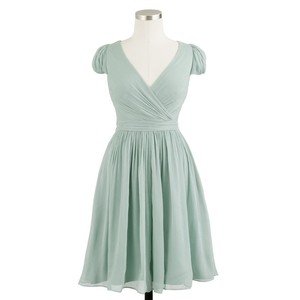 J.Crew Dusty Shale Mirabelle Dress Dress