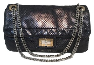 Chanel Classic Classic Flap Flap Perforated Perforated Leather Shoulder Bag