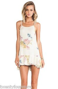 Urban Outfitters Bohemian Bones Cheeky Floral Print Dress