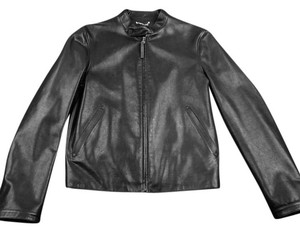 Louis Vuitton Leather Leather Jacket
