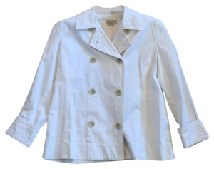 Banana Republic Doublebreast Spring Light Size Large Off white Jacket
