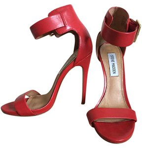 Steve Madden #stiletto Red Sandals