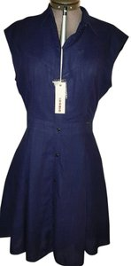 Diesel short dress Indigo/Blue on Tradesy