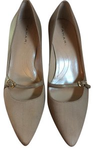 Tahari Tan Pumps