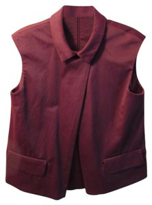 COS Top burgundy