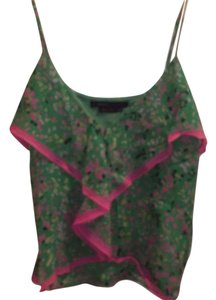 BCBGMAXAZRIA Top Green/Multi