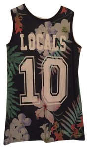 Topshop Localsonly Top Tropical Print