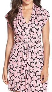 French Connection short dress Pink floral pattern on Tradesy