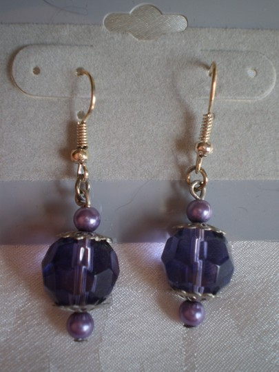 Other New Lavender dangly earrings