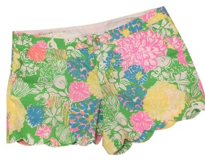 Lilly Pulitzer Dress Shorts Hibiscus Stroll