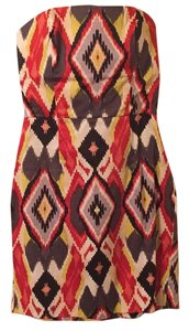 Forever 21 short dress Black red yellow on Tradesy