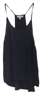Cotton On Racer-back Silk Top Black